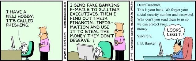 Dilbert Phishing
